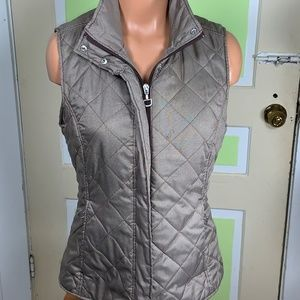 ARIAT RIDING VEST BROWN HOUNDSTOOTH MEDIUM